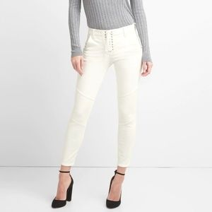 Gap Moto Jeans with Lace up detail